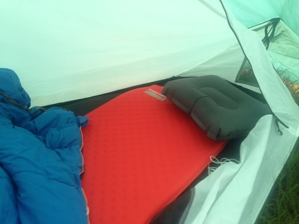 Wild Country Zephyros 1 Space Inside & Wild Country Zephyros 1 Person Tent Review - Coolhikinggear.com