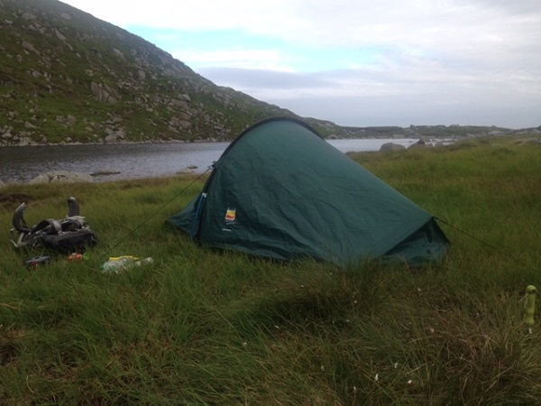 Zephyros 1 Tent by the Lake & Wild Country Zephyros 1 Person Tent Review - Coolhikinggear.com