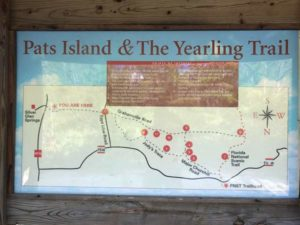 The Yearling Trail Head Map Board