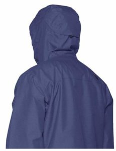 The North Face Mens Venture 2 Jacket Rear Profile with Hood 1