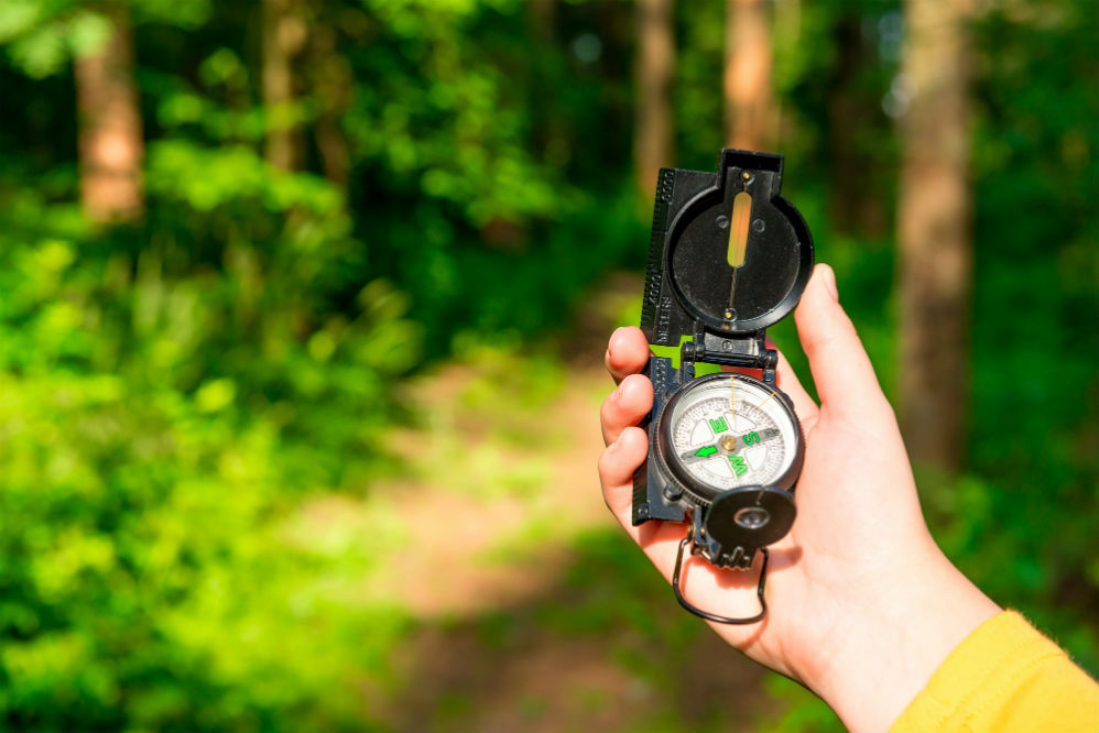 How to Use a Lensatic Compass
