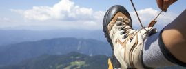 How To Tie Hiking Boots For Downhill