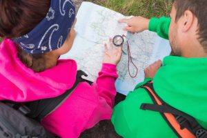 How To Use A Map And Compass For Hiking