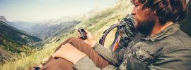 Hiker-With-A-GPS